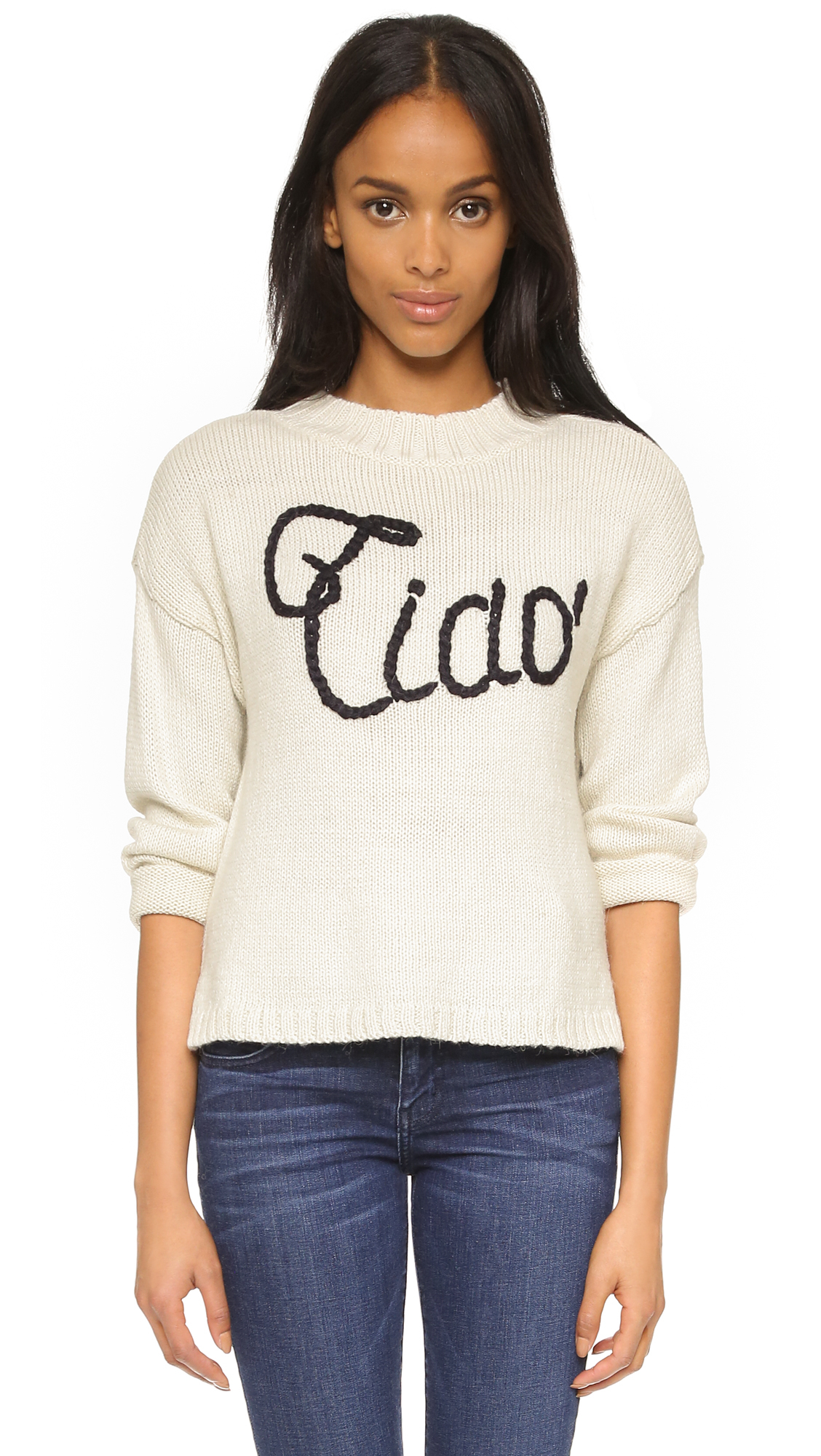 WildfoxWomen's Natural Ciao Bella Dinner Party Sweater