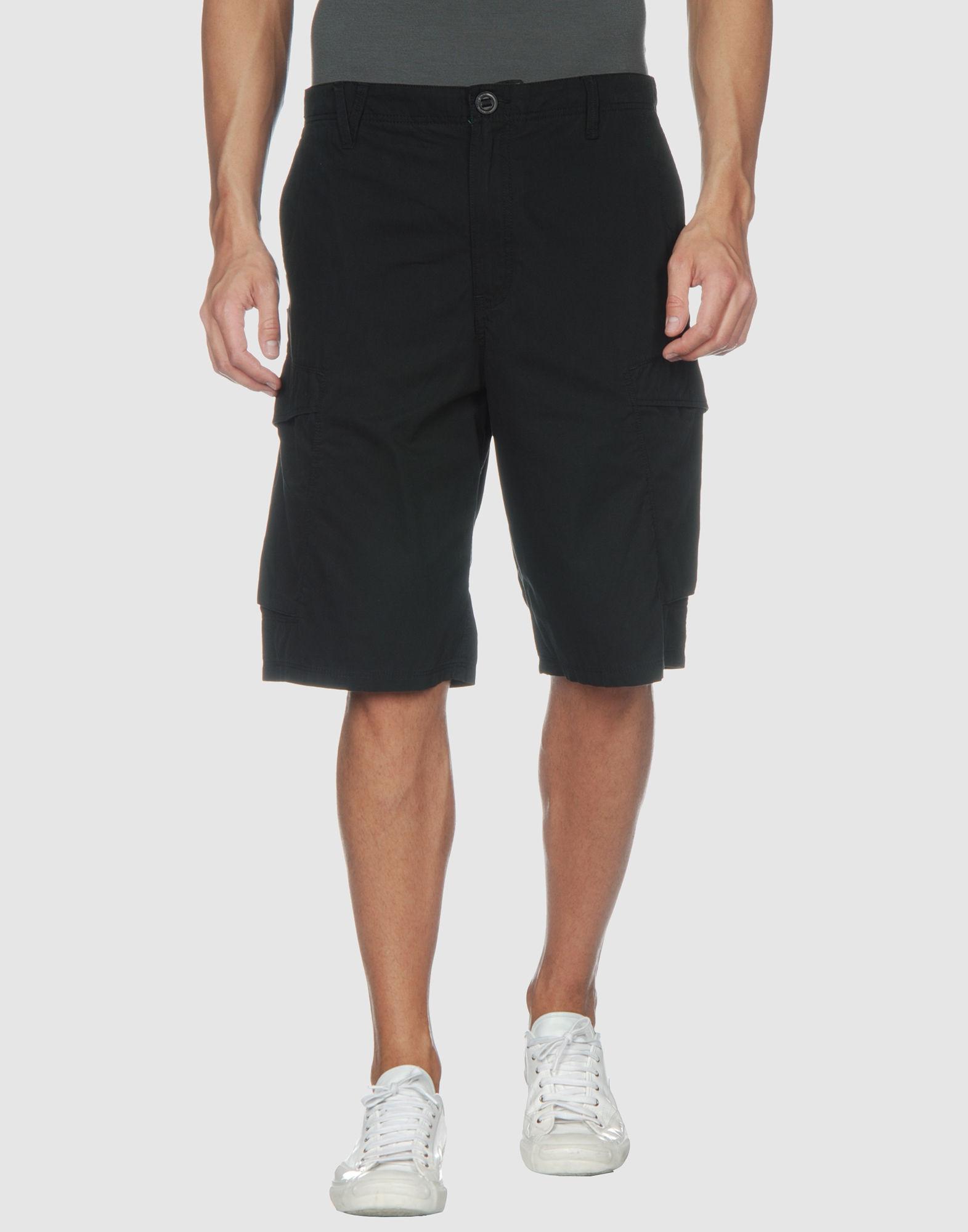 Volcom Bermuda in Black for Men   Lyst