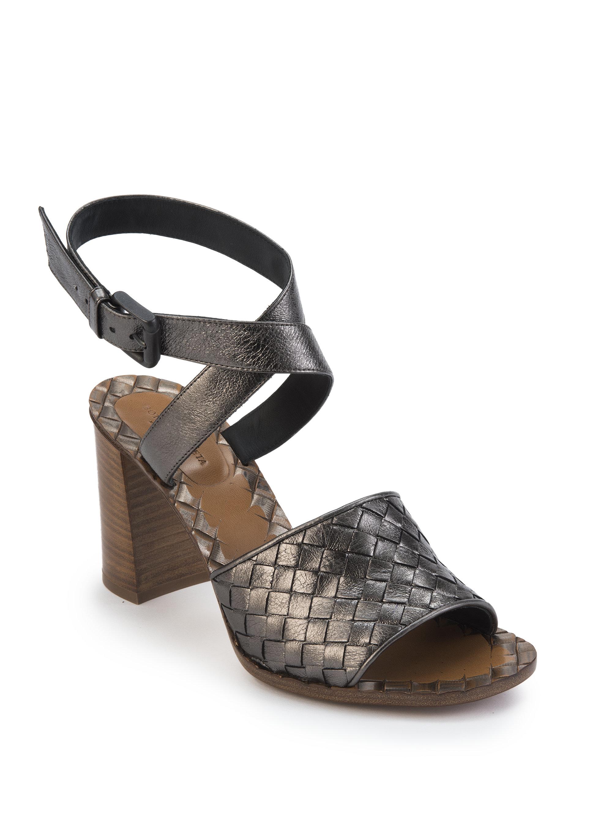 Bottega Veneta Intrecciato heeled sandals FQNtm1BPjW