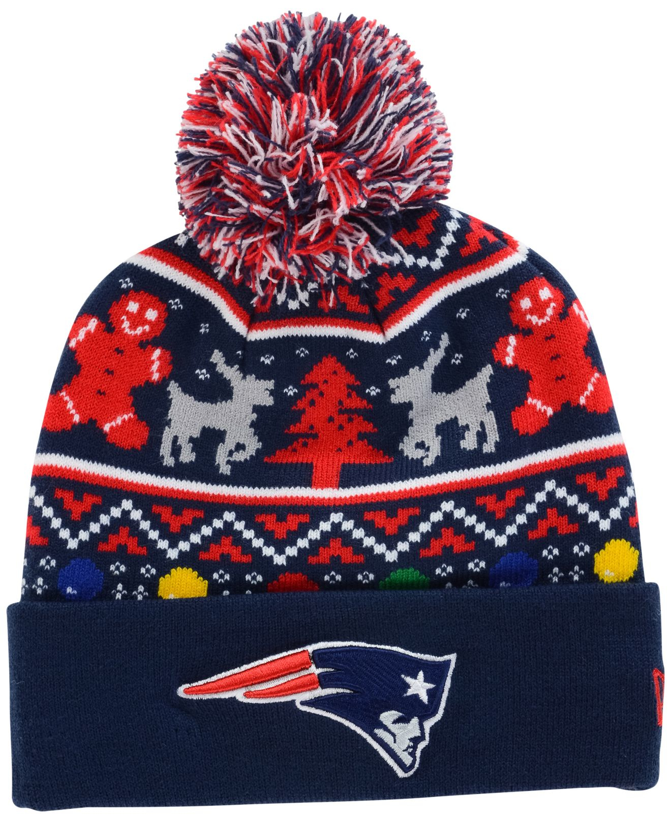15bf05b2157 foco new england patriots ugly 3d sweater mens medium. nwt new ...