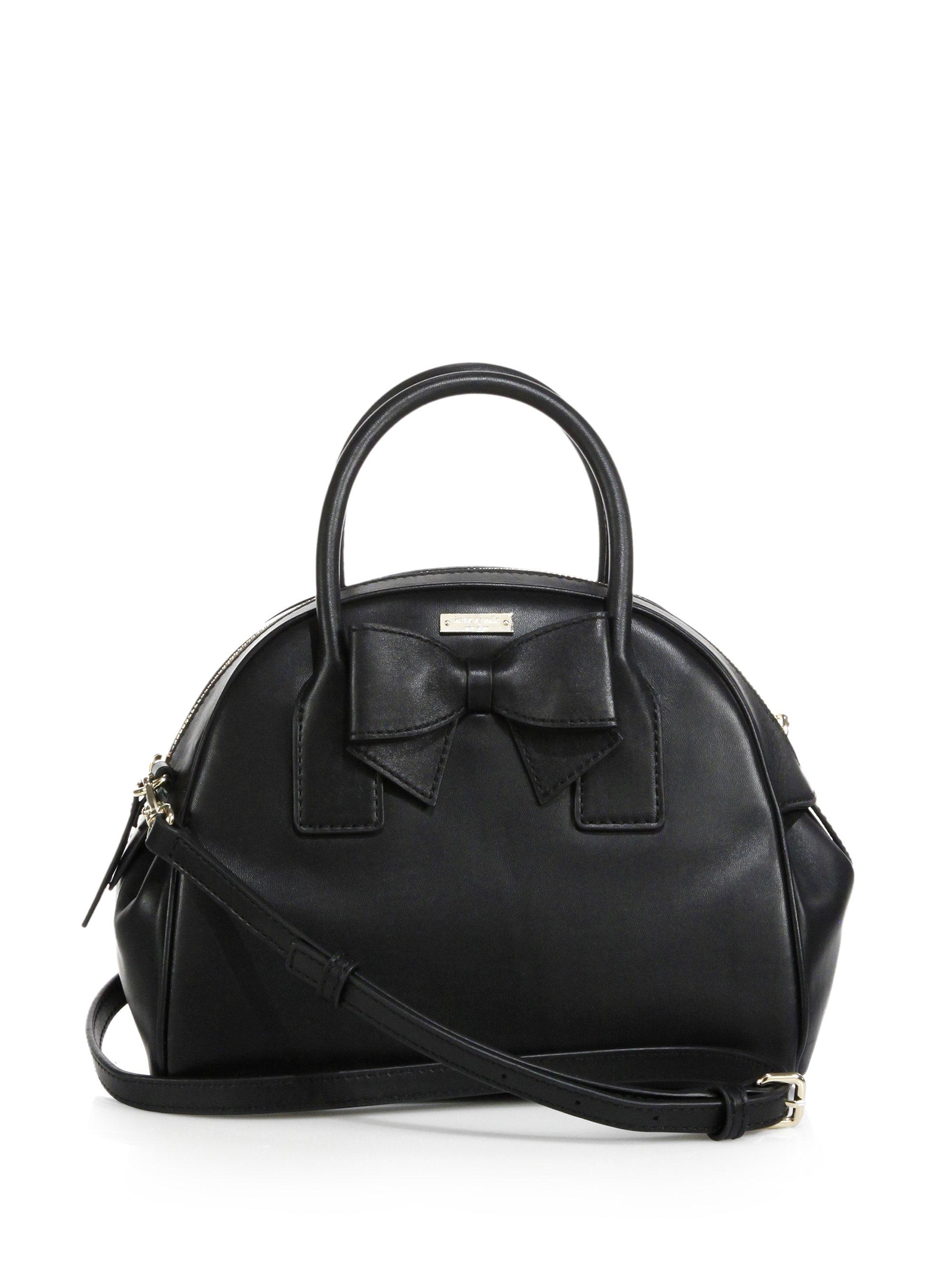 0290a61cb8 Lyst - Kate Spade Hanover Street Small Lorin Bowler Bag in Black