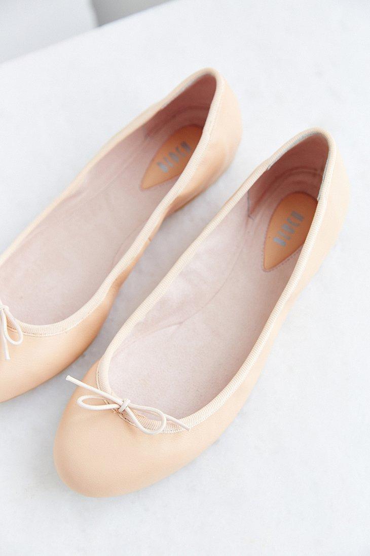 bloch ballet flat in pink lyst