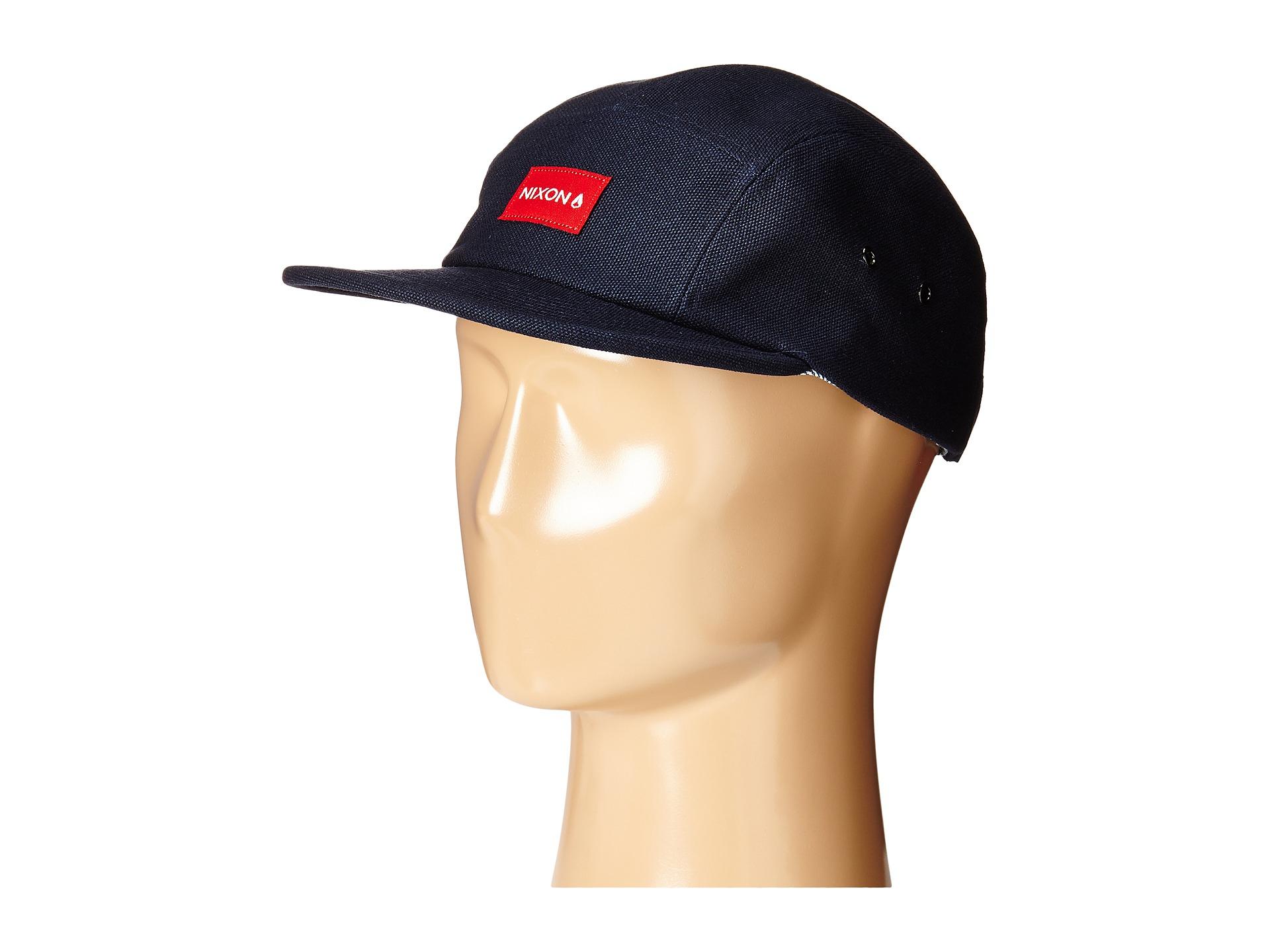 5da4ef7e3b1 Lyst - Nixon Tide 5 Panel Hat in Blue