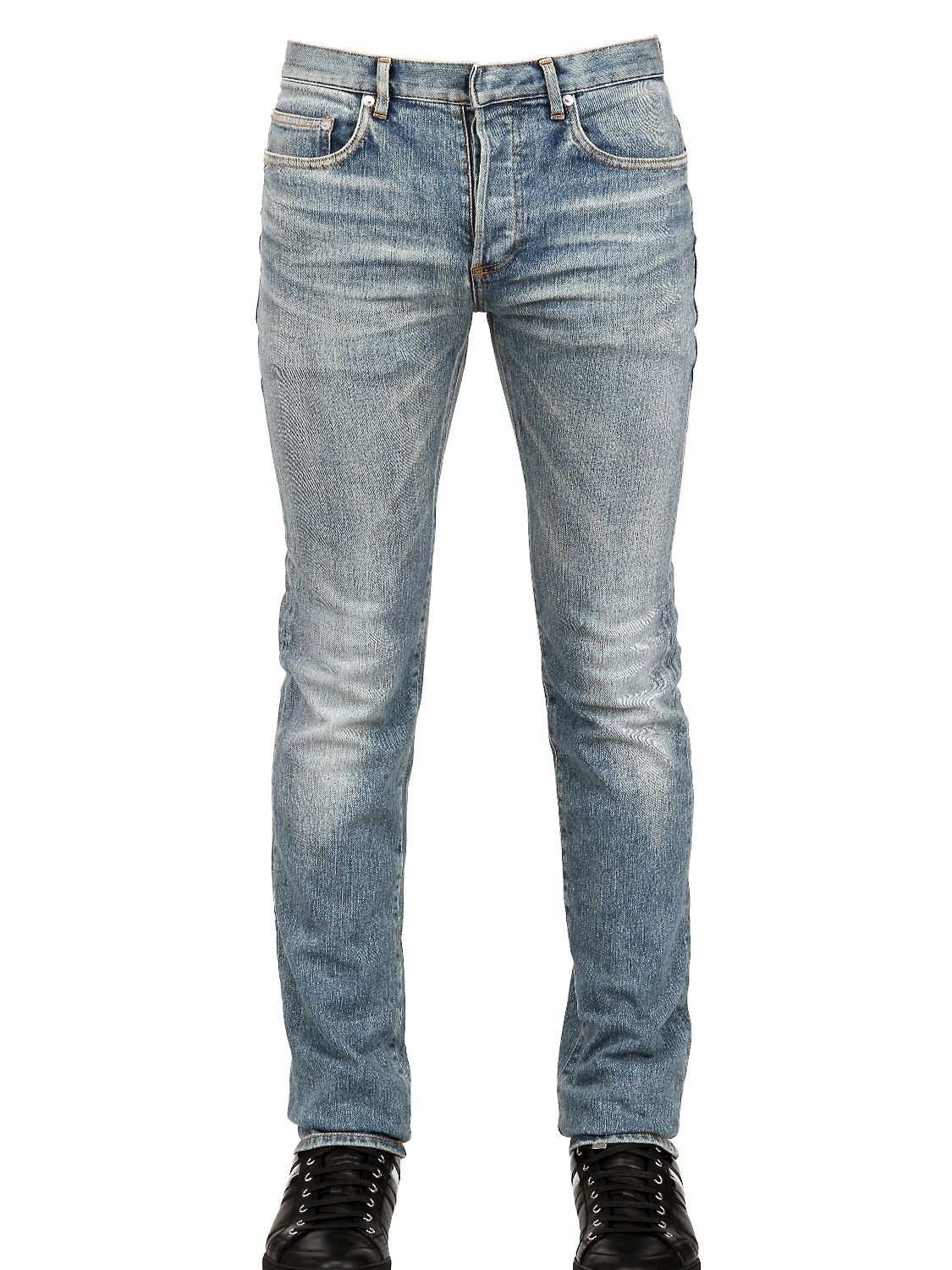 Dior Homme 17.5Cm Second Round Denim Jeans in Blue for Men ...