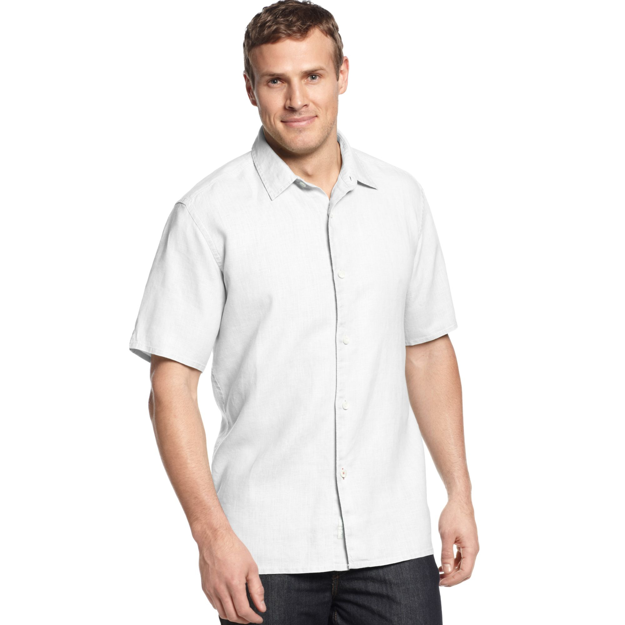 Tommy bahama big and tall linen sea glass breezer shirt in for Tommy bahama christmas shirt 2014