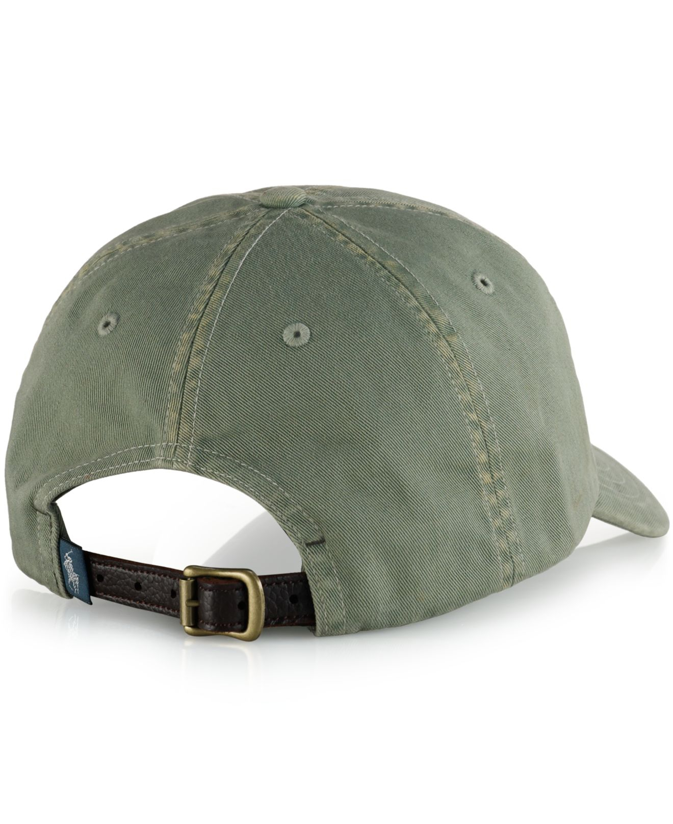 polo ralph lauren twill surf cap in green for men lyst. Black Bedroom Furniture Sets. Home Design Ideas