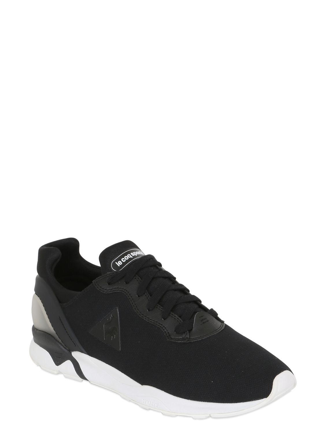 le coq sportif lcsr 16 anodized sneakers in black for men lyst. Black Bedroom Furniture Sets. Home Design Ideas