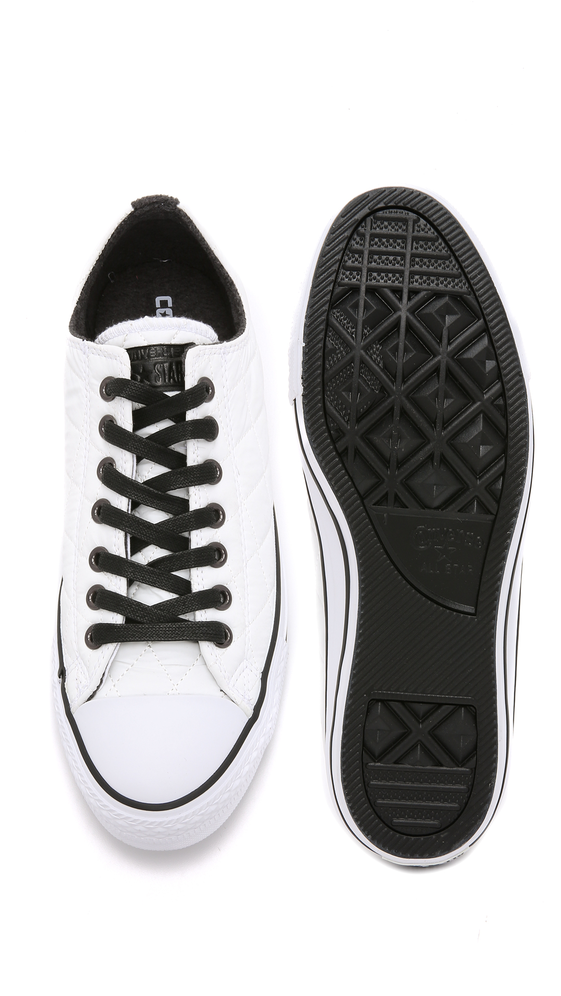 c2b039384ce7 Lyst - Converse Chuck Taylor All Star Quilted Nylon Sneakers in ...