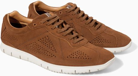 Brown Sports Shoes Shoe in Brown For Men