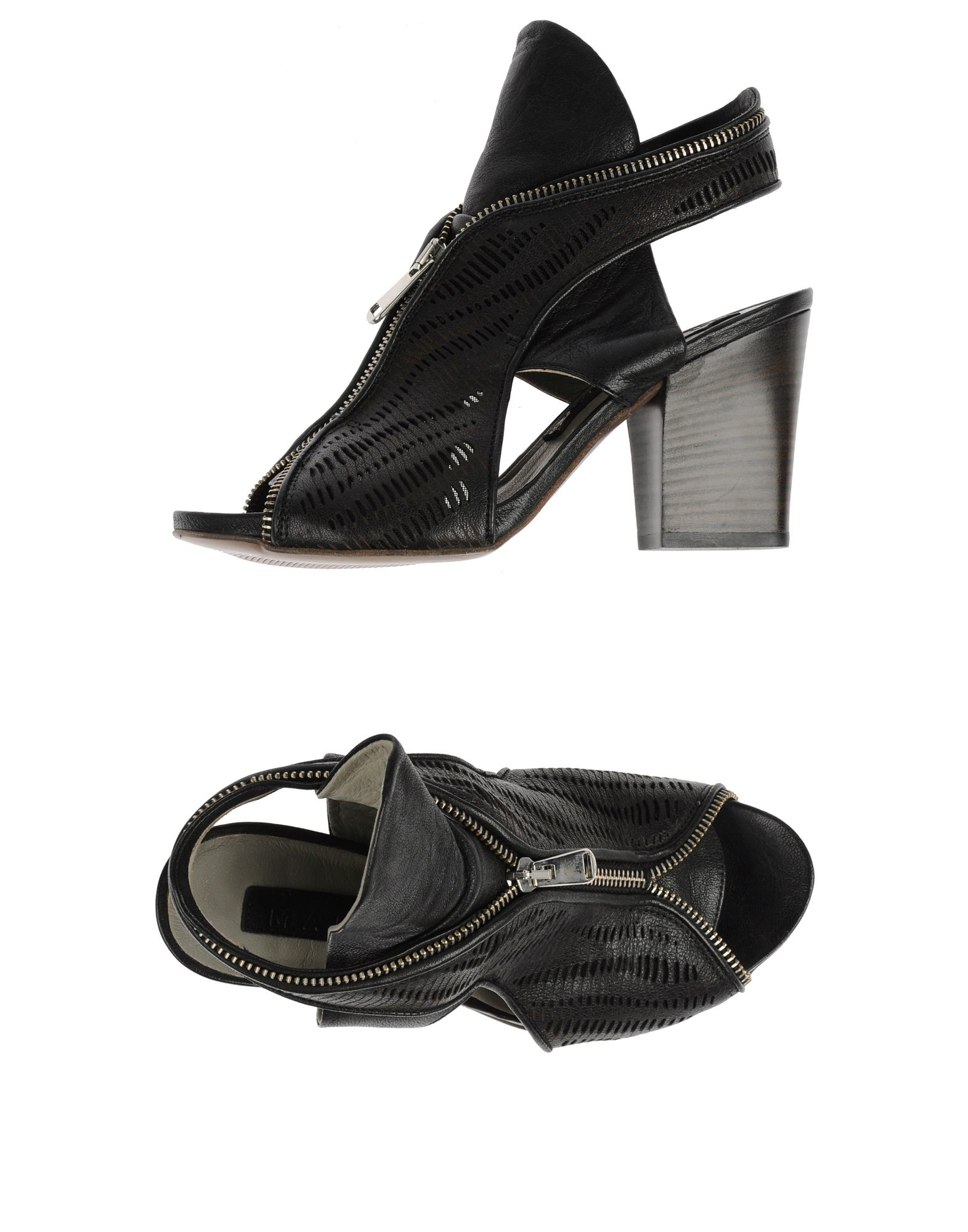 Malloni Sandals In Black Lyst