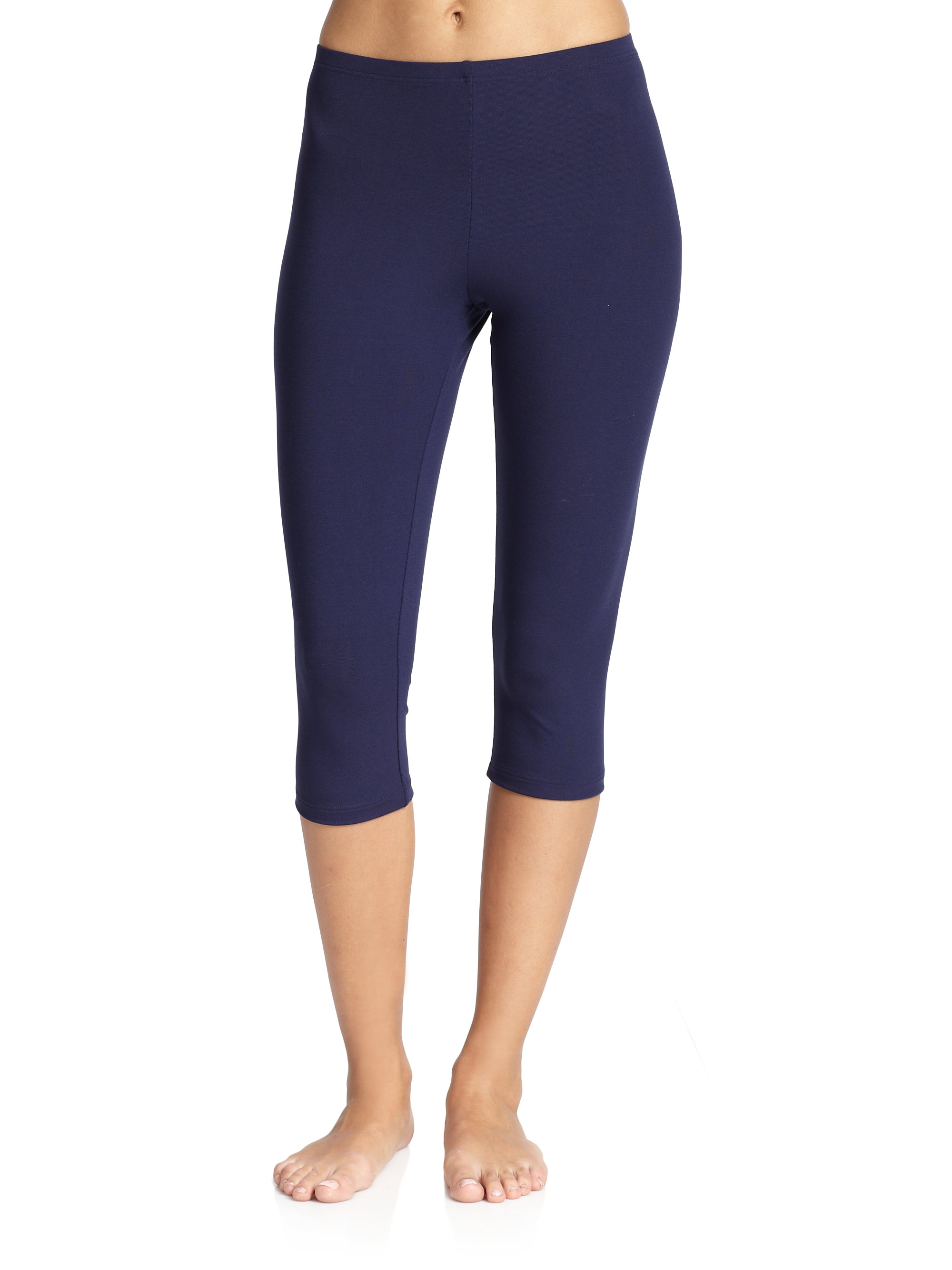 Wolford Layla Capri Leggings in Blue | Lyst