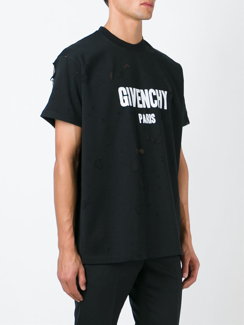 givenchy t shirt black. Black Bedroom Furniture Sets. Home Design Ideas