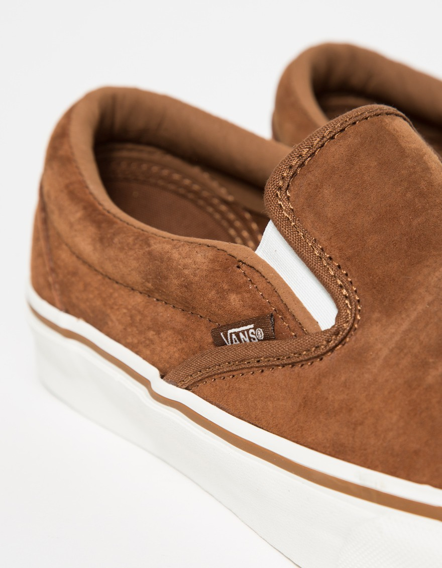 vans suede brown