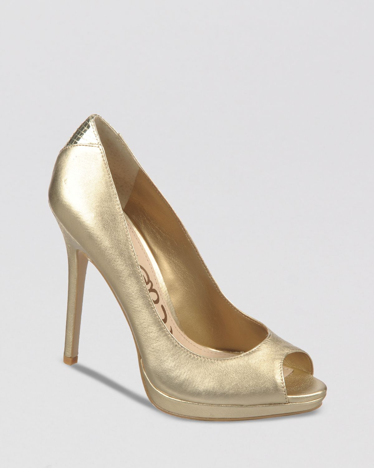 Light Gold Heels - Is Heel