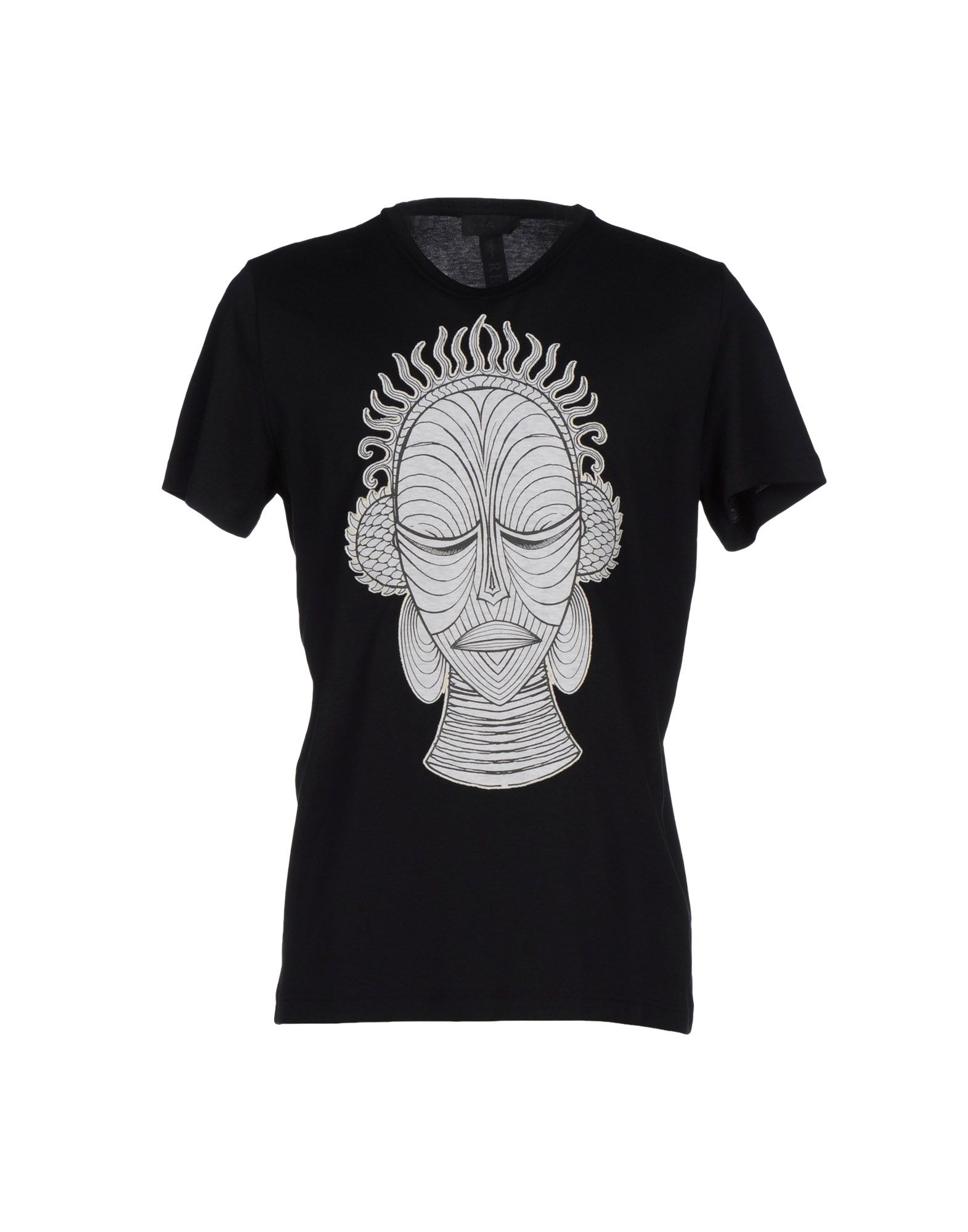 Lyst john richmond t shirt in black for men for T shirt printing richmond va