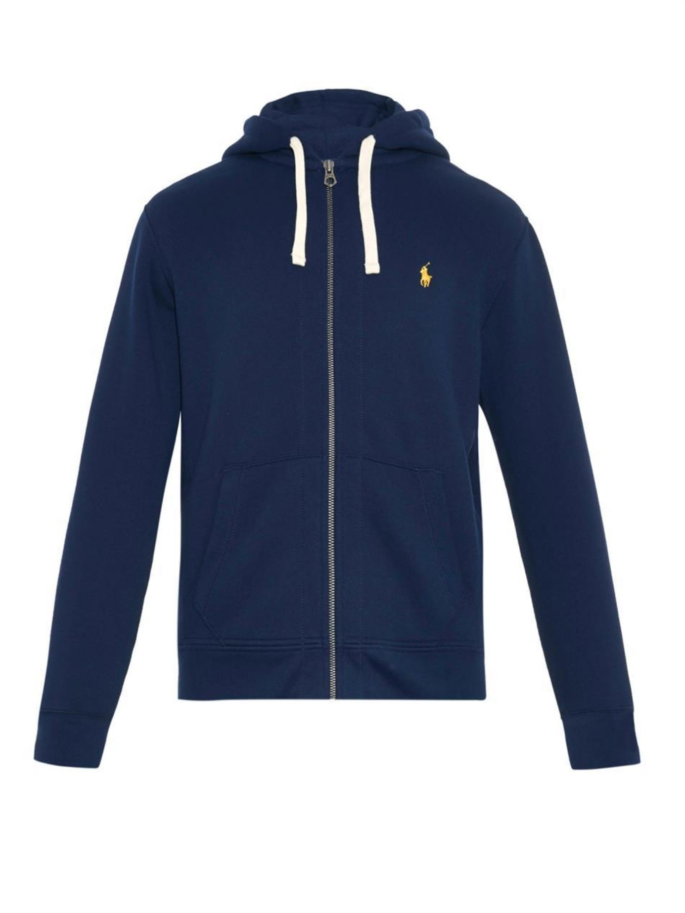 Polo Ralph Lauren. Men\u0026#39;s Blue Zip-up Hooded Sweatshirt