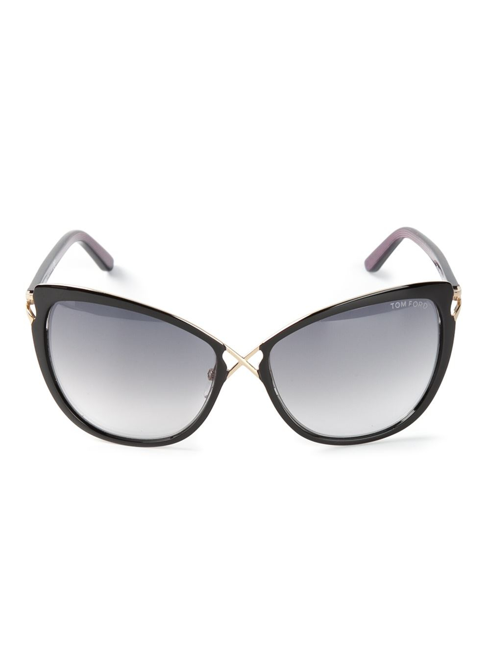 tom ford daria crossover cat eye sunglasses in black lyst. Cars Review. Best American Auto & Cars Review