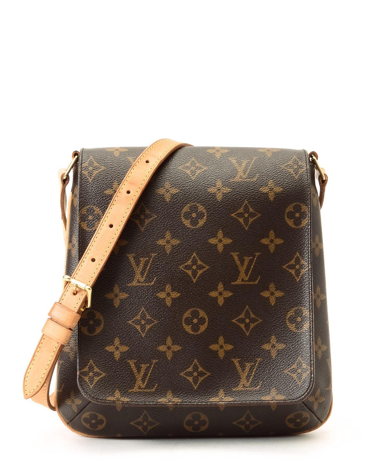 Lyst - Louis Vuitton Musette Salsa Long Strap Shoulder Bag in Brown 0d943ea64859f