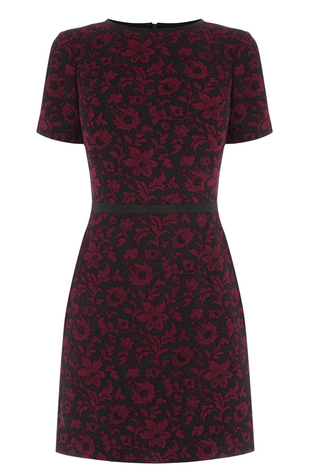 oasis baroque floral dress lyst