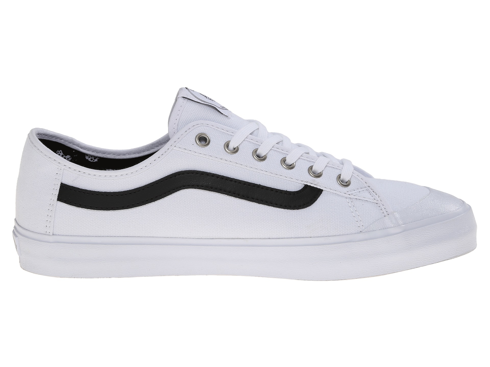 vans mens black ball v