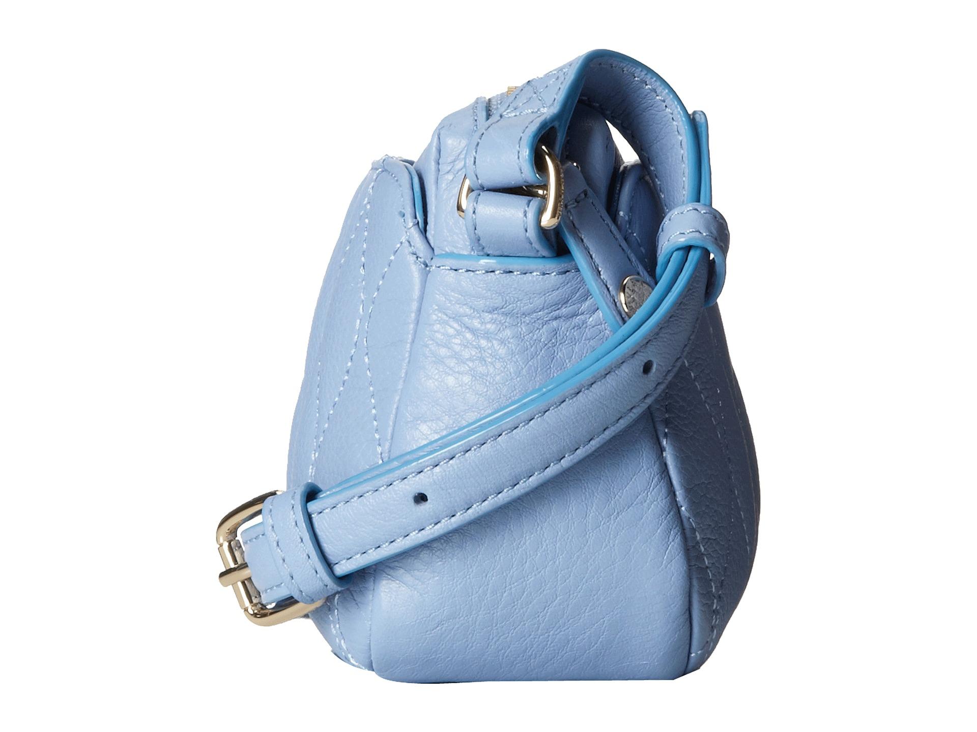 a2b82350f753 Lyst - Vera Bradley Quilted Sydney Crossbody in Blue