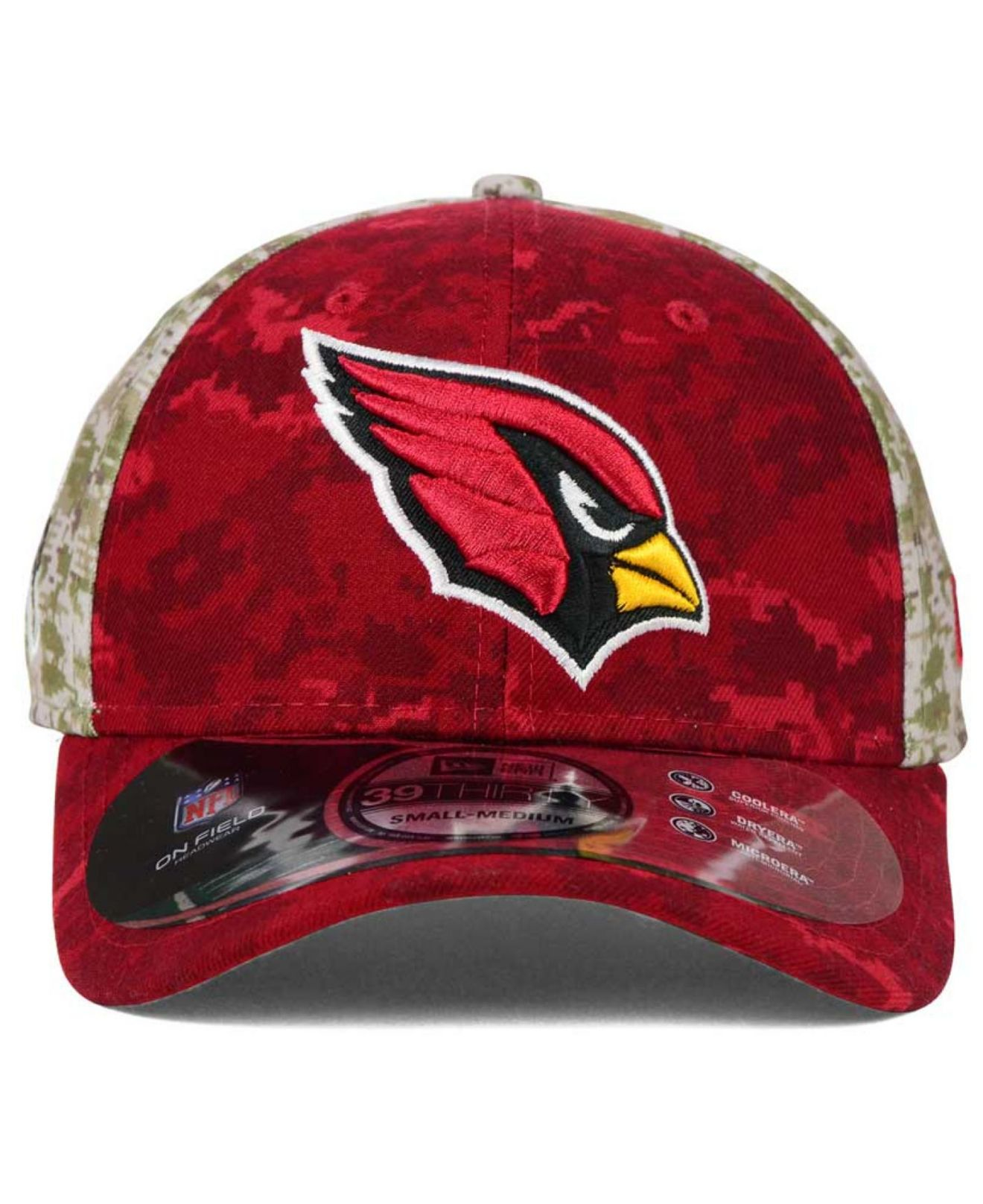 7fbf5afd6ca ... coupon for lyst ktz arizona cardinals salute to service 39thirty cap in  green 237dd 66f88