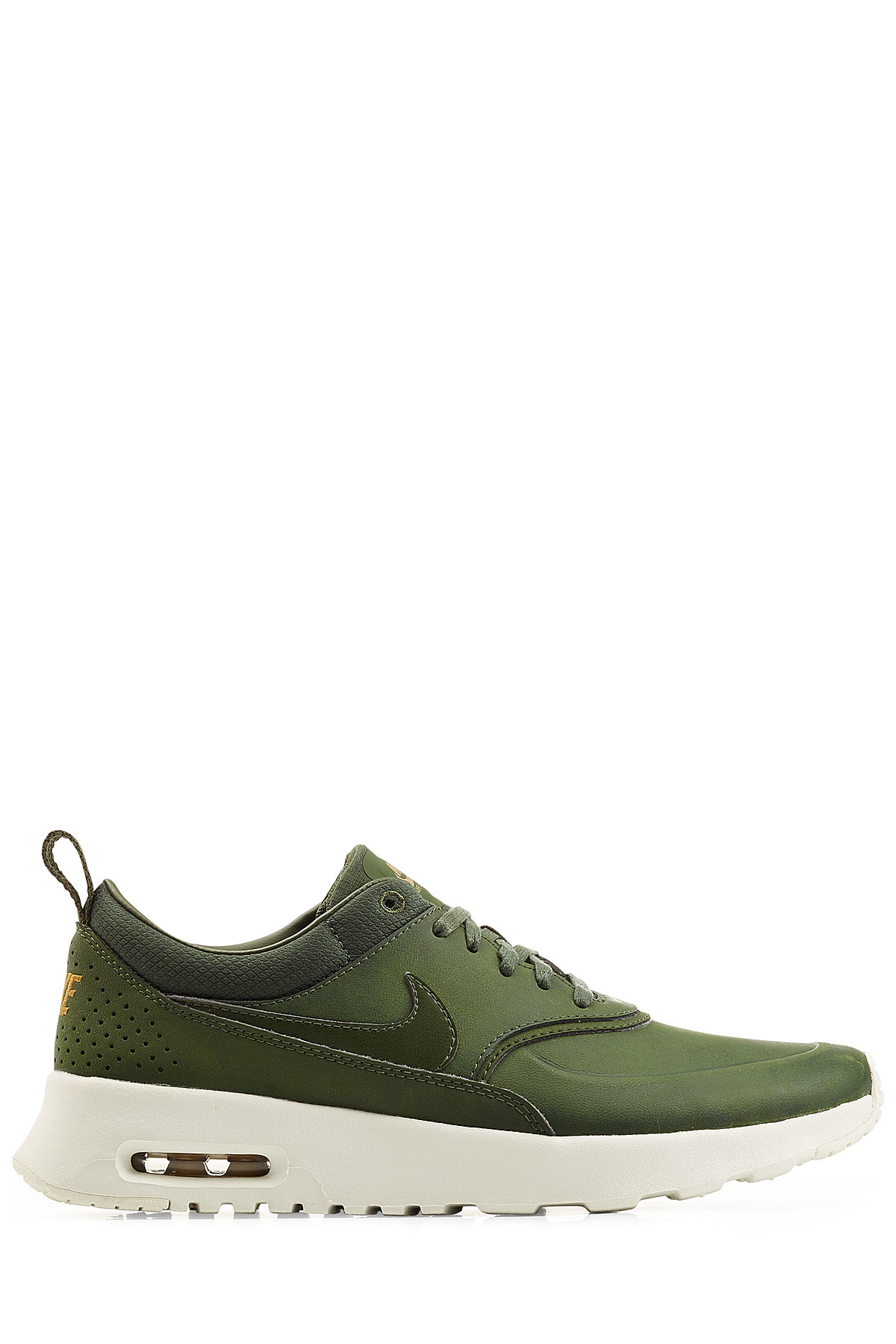 size 40 42b9e 76e45 Nike Air Max Thea Premium Leather Sneakers - Green in Green - Lyst