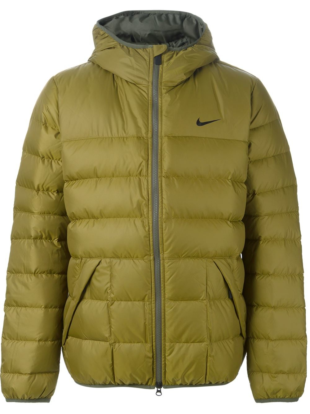 Nike down feather jacket