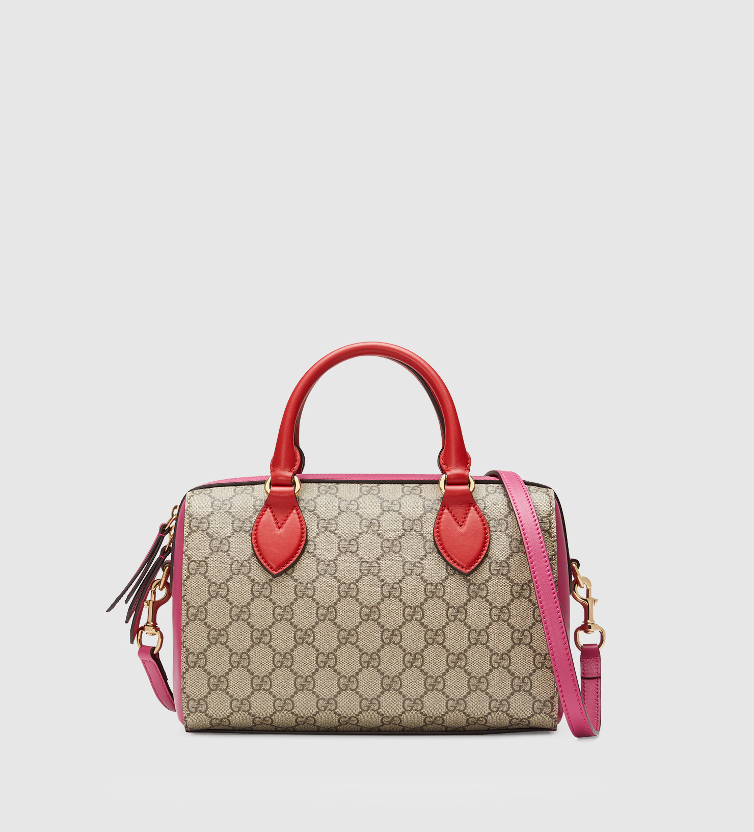 e8b36f37ca25 Gucci Gg Supreme Top Handle Bag - Lyst