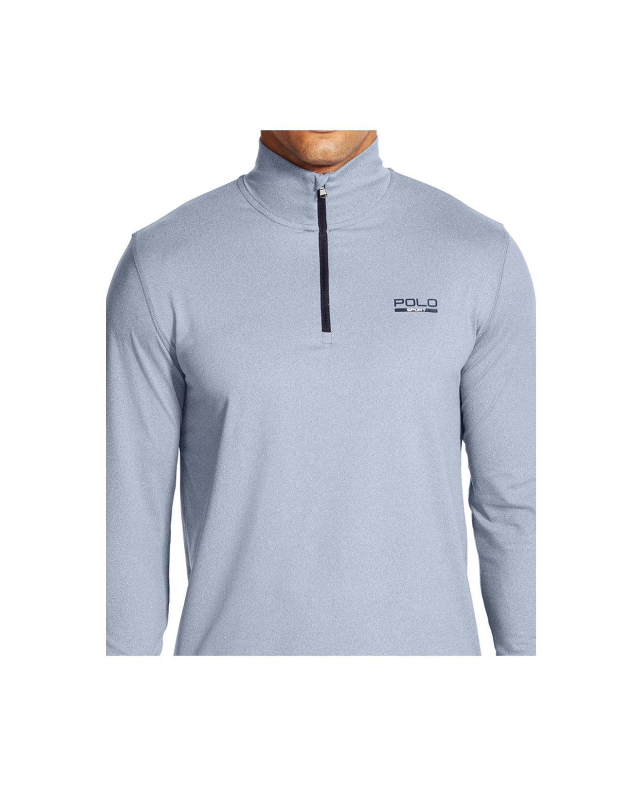 polo ralph lauren stretch jersey pullover in blue for men. Black Bedroom Furniture Sets. Home Design Ideas