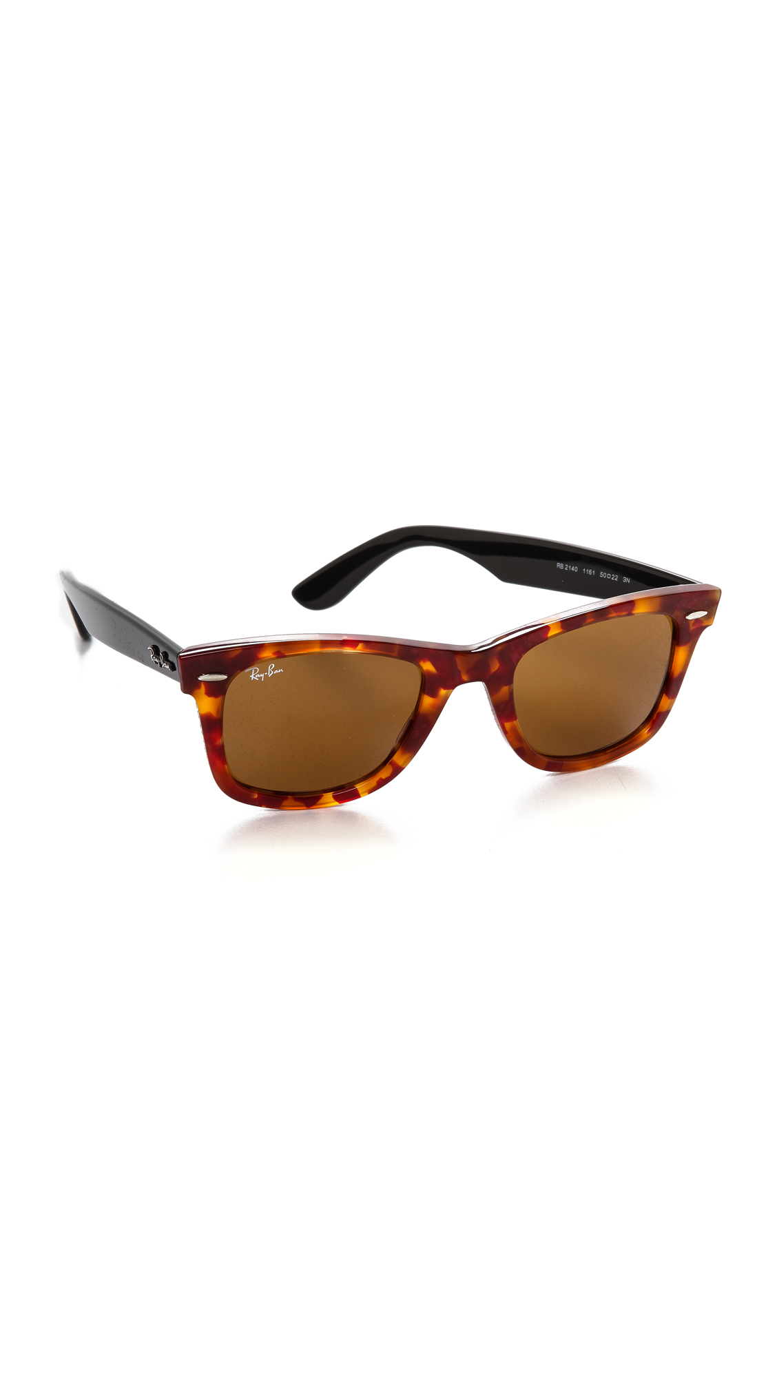 Lyst - Ray-Ban Icons Wayfarer Sunglasses - Spotted Red