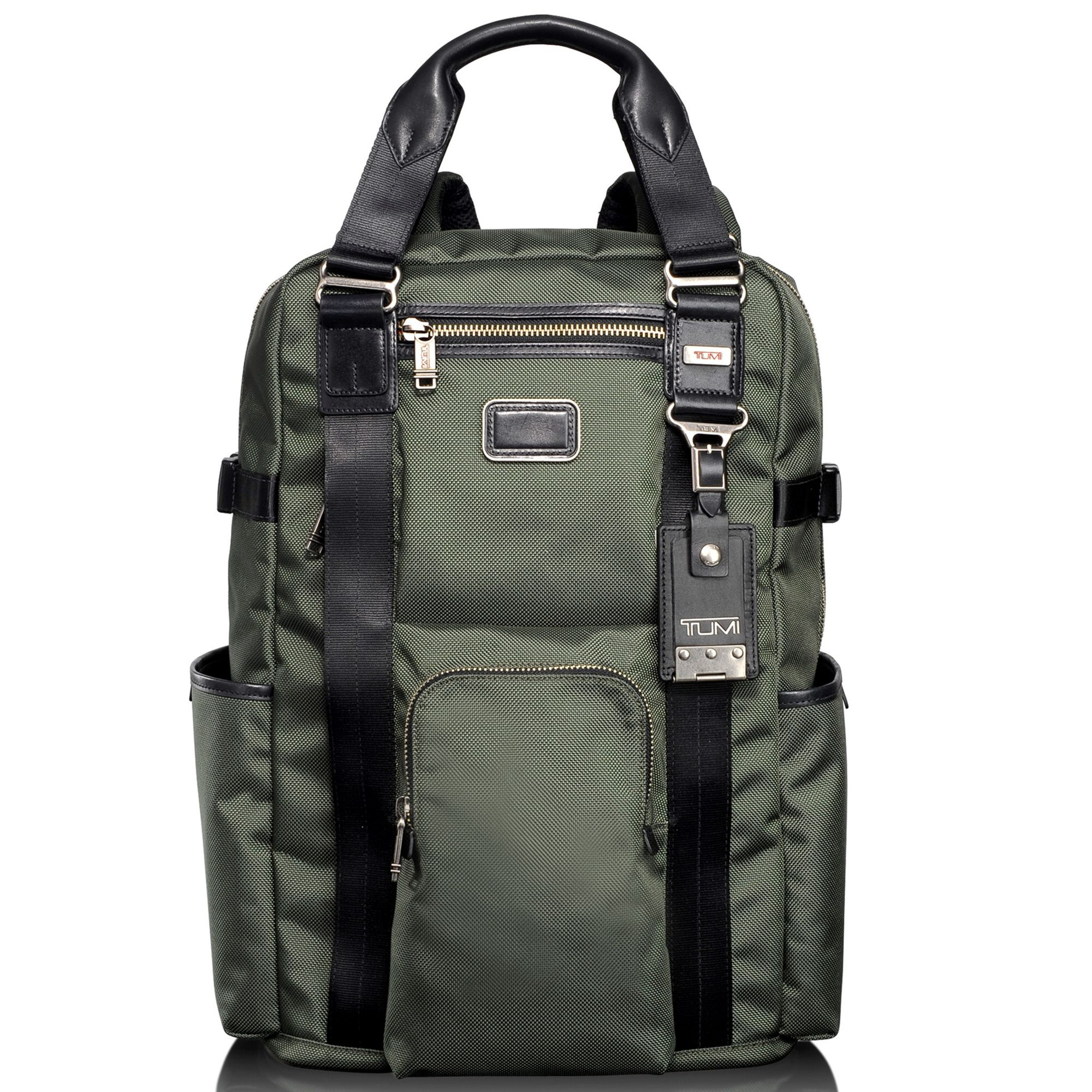 Lyst Tumi Alpha Bravo Lejeune Backpack Tote In Green For Men