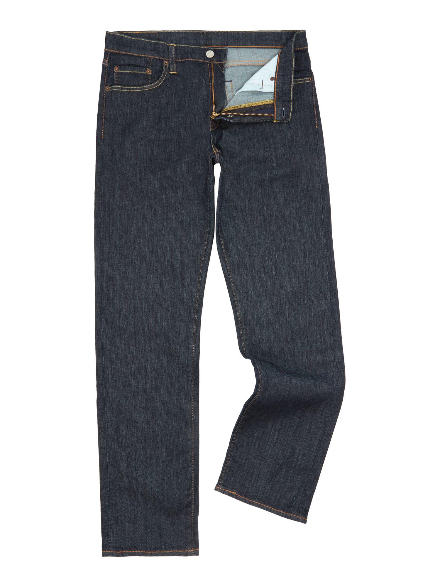 levi 39 s high def 504 regular straight jean in blue for men. Black Bedroom Furniture Sets. Home Design Ideas