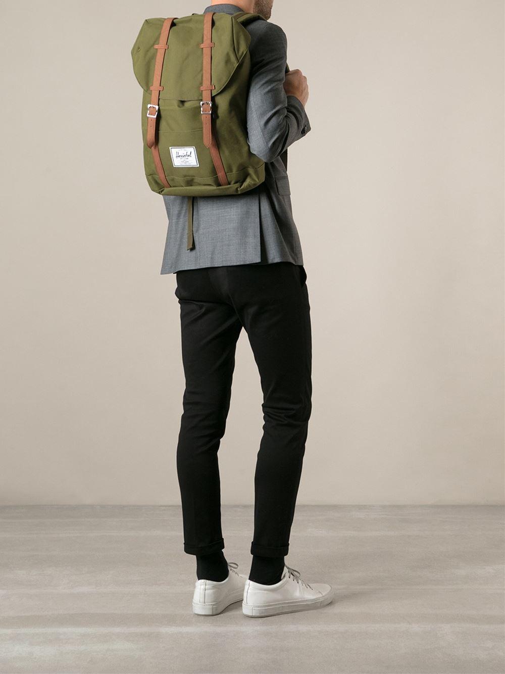 Lyst - Herschel Supply Co. Mid-volume Little America Backpack in ... 239fbe8f8c4da
