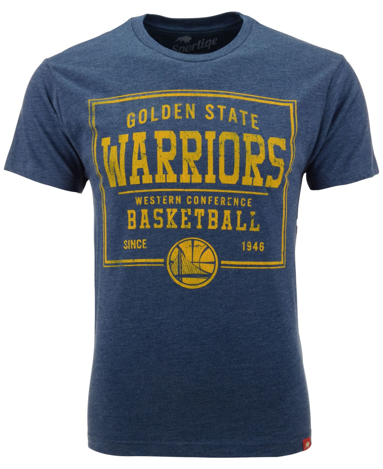 Sportiqe Men'S Short-Sleeve Golden State Warriors T-Shirt in Blue for Men   Lyst