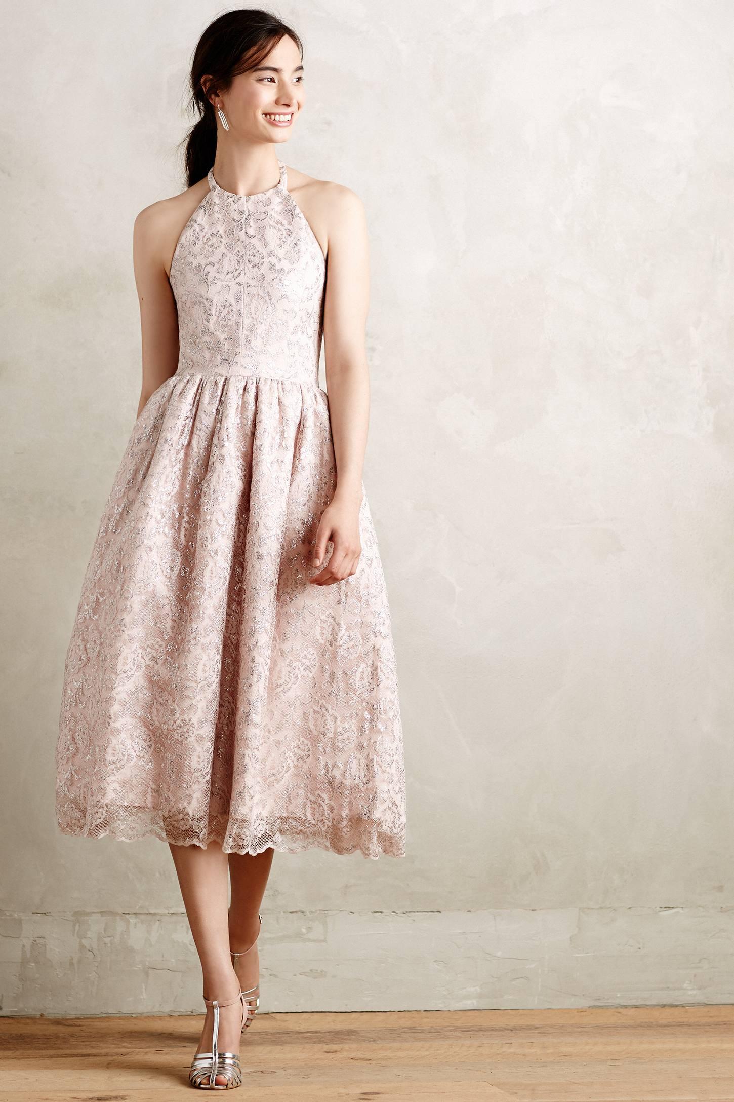 Shoshanna Lavandou Dress in Pink   Lyst