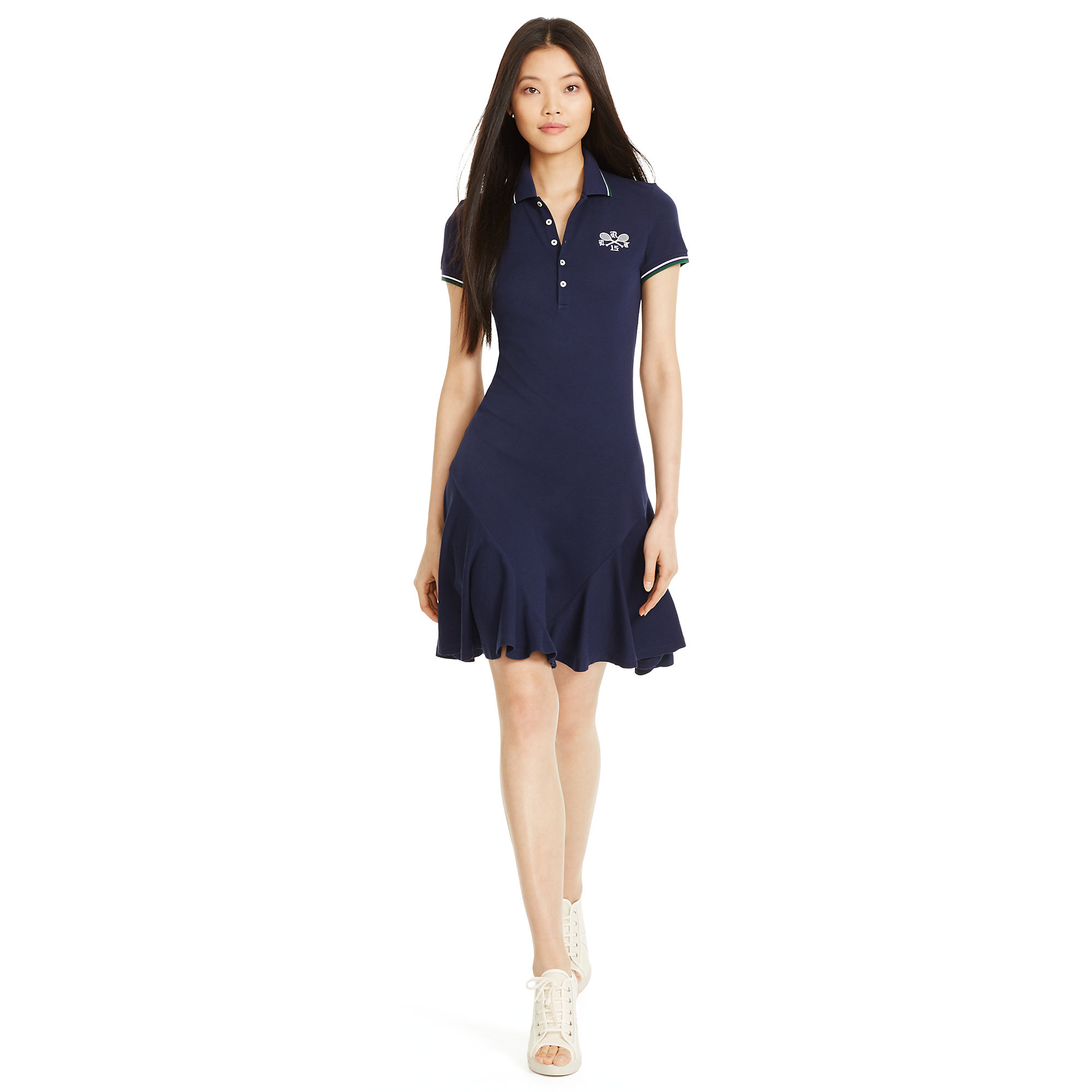 Excellent Ralph Lauren Women Kevson Dress Navy San Remo Salelauren By Ralph Lauren Dressesralph Lauren ...