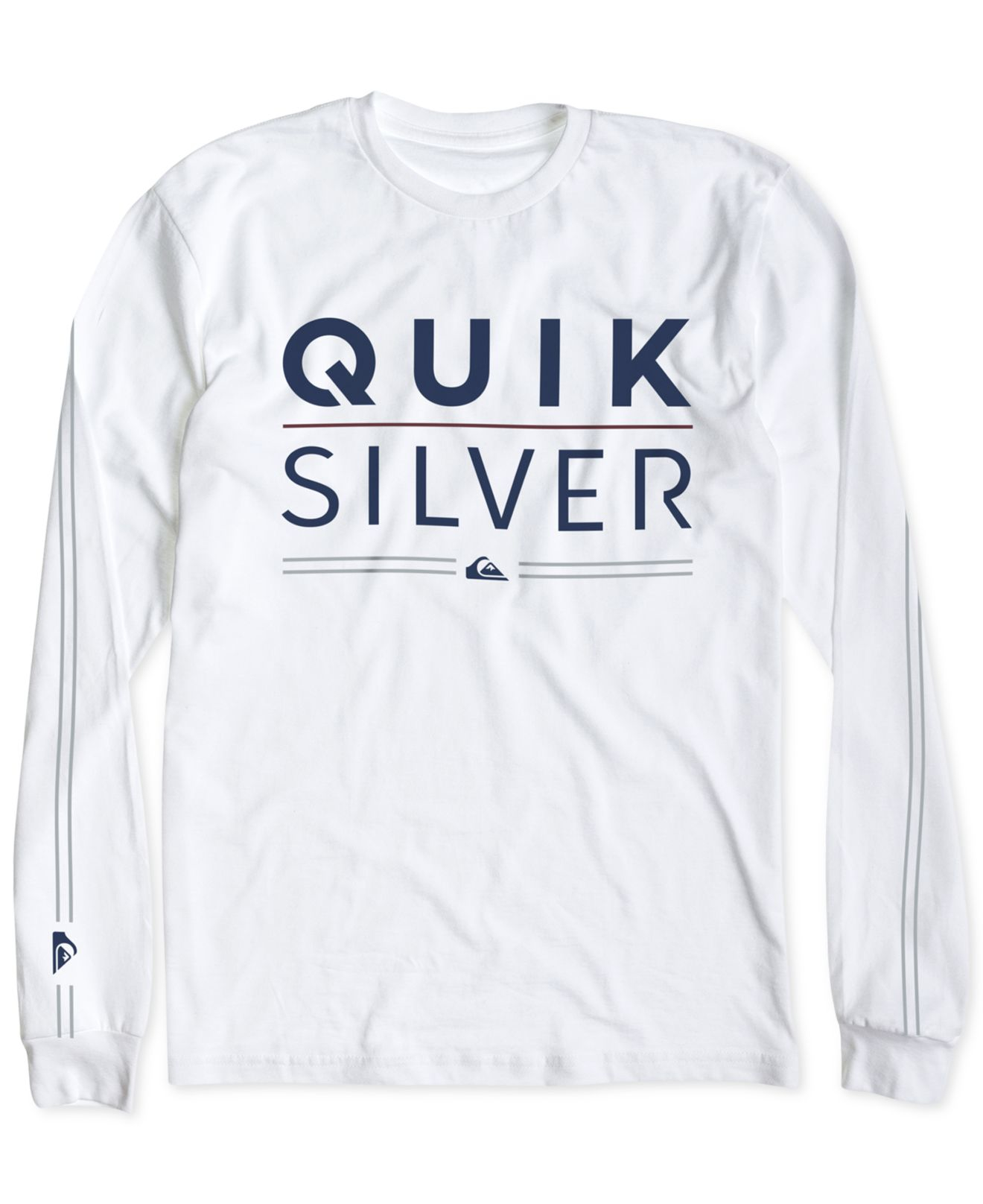 22781a1fec51 Quiksilver Men's Fully Stacked Graphic-print Logo Long-sleeve T ...
