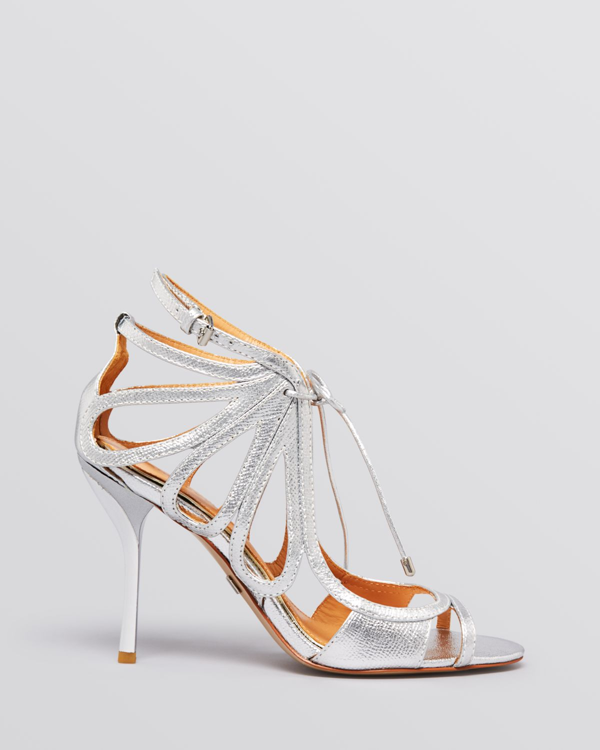 Badgley Mischka Metallic Multistrap Sandals outlet best outlet for sale deals for sale from china free shipping low price wY4NPVF