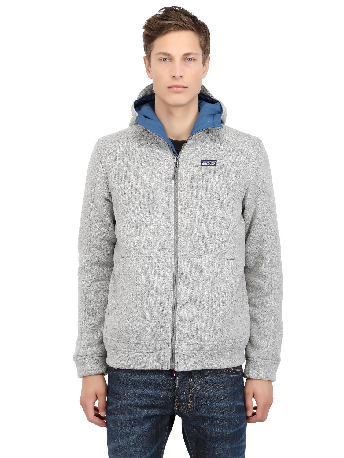 Lyst Patagonia Better Sweater Hoody Fleece Jacket In