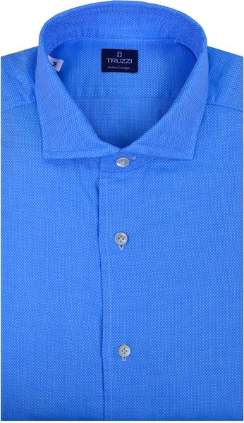 Truzzi Light Blue with White Dots Dress Shirt in Blue for ...