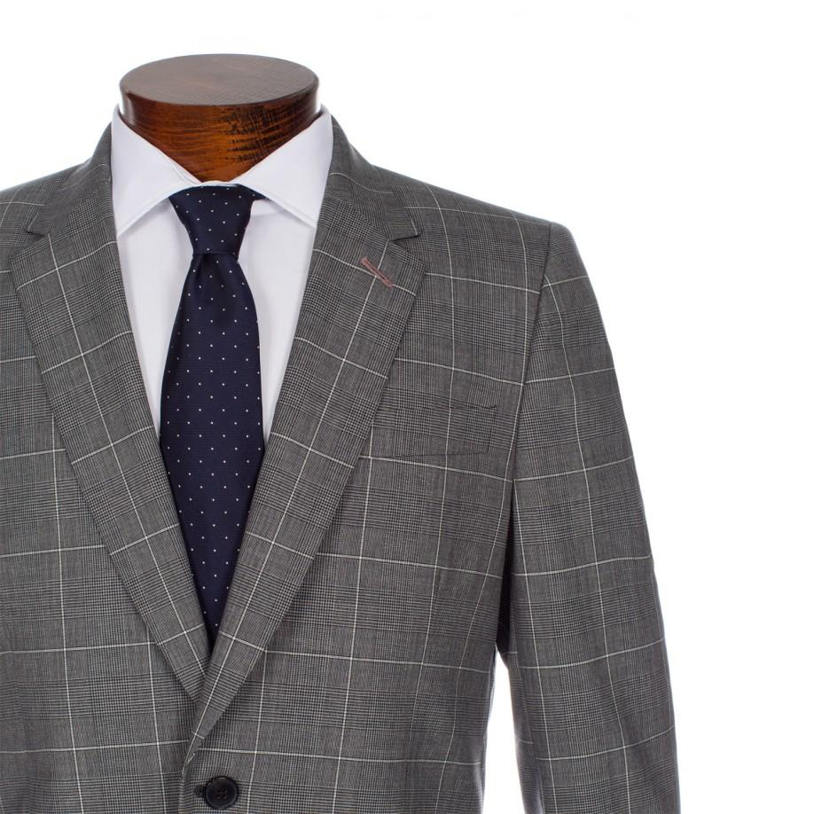 Lyst Paul Smith Grey Prince Of Wales Windowpane Check