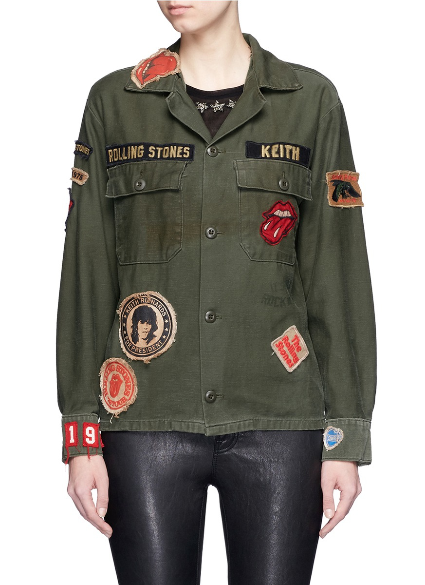 Lyst Madeworn Rolling Stones One Of A Kind Patch