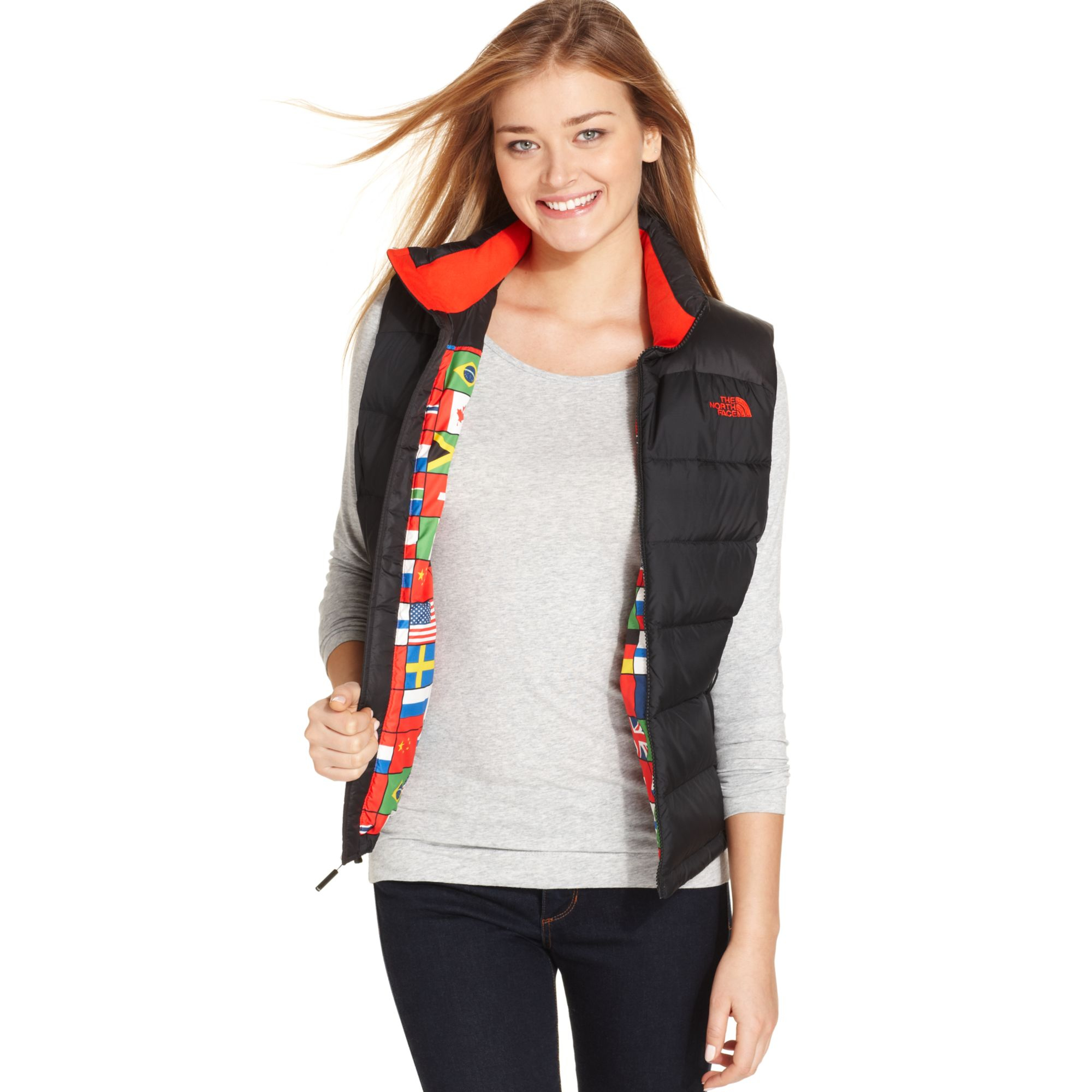 Lyst the north face nupste international collection for International collection