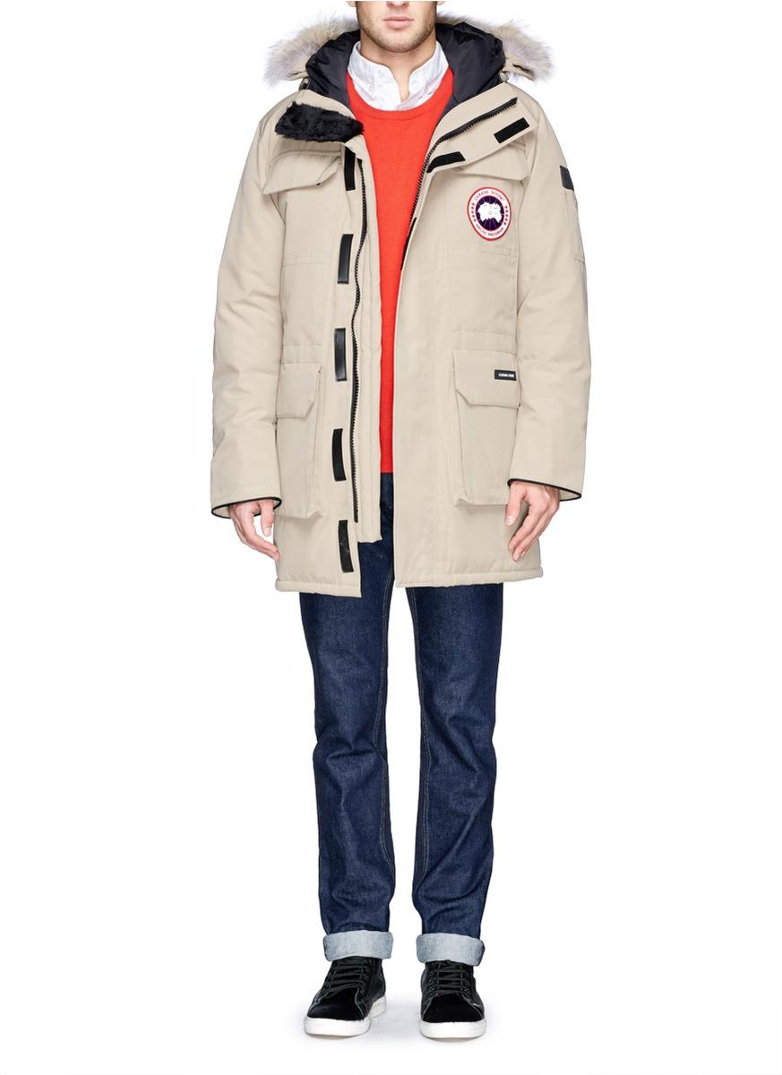 canada goose fur hood for sale