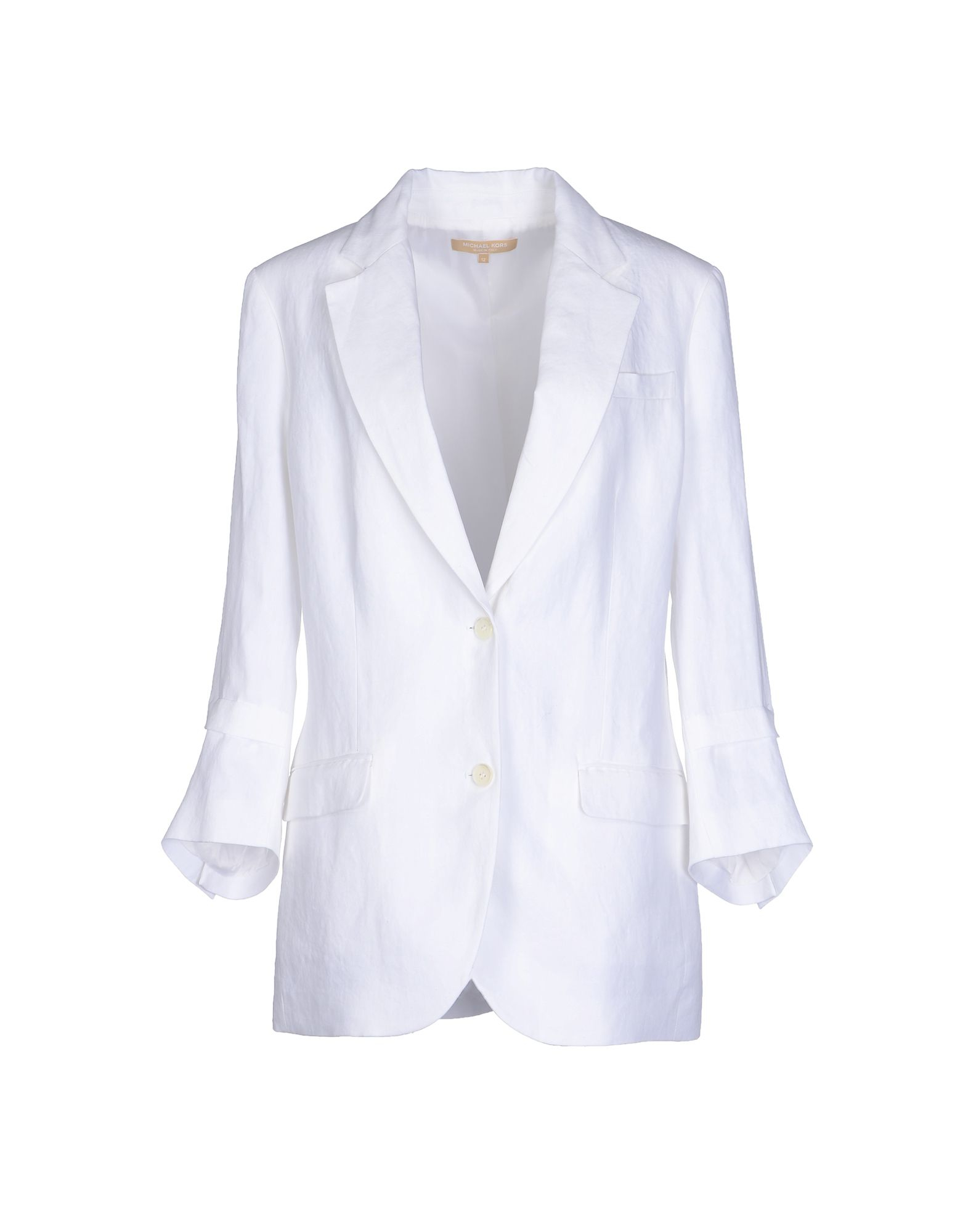 michael kors blazer in white lyst. Black Bedroom Furniture Sets. Home Design Ideas