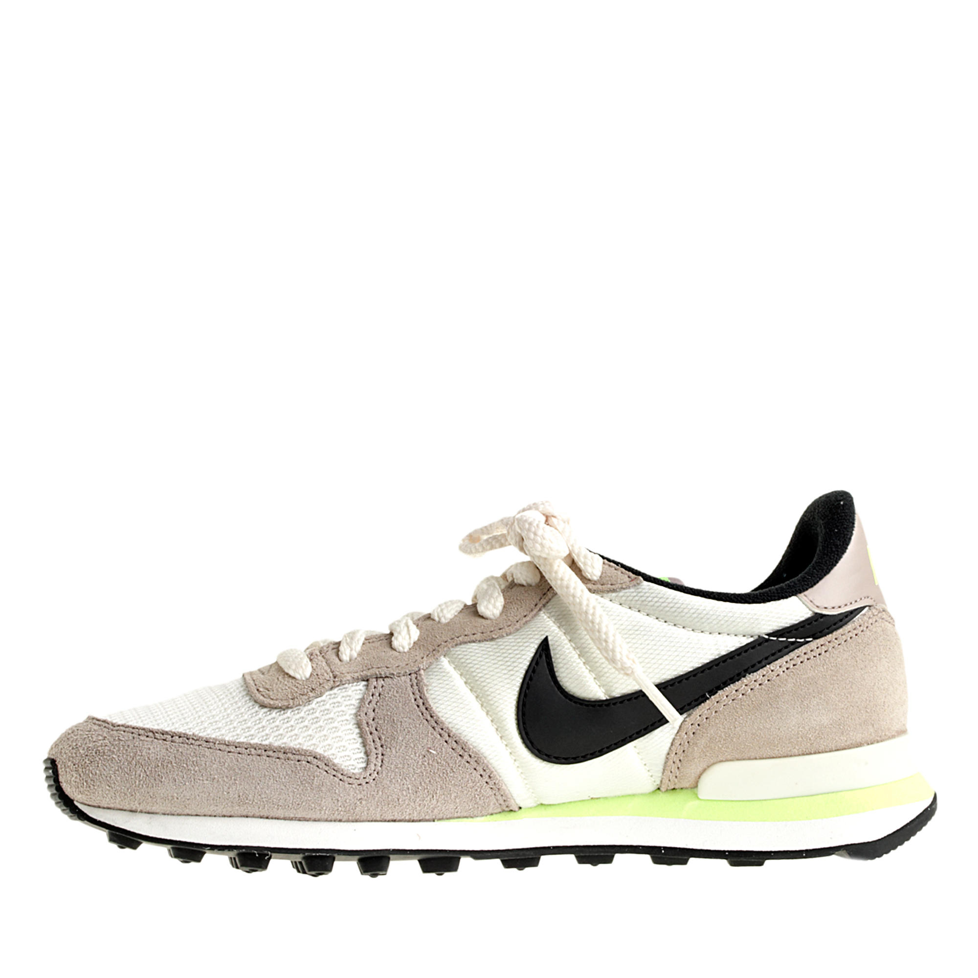 info for 6c943 47427 ... purchase lyst j.crew womens nike internationalist sneakers in brown  a6471 7ca12
