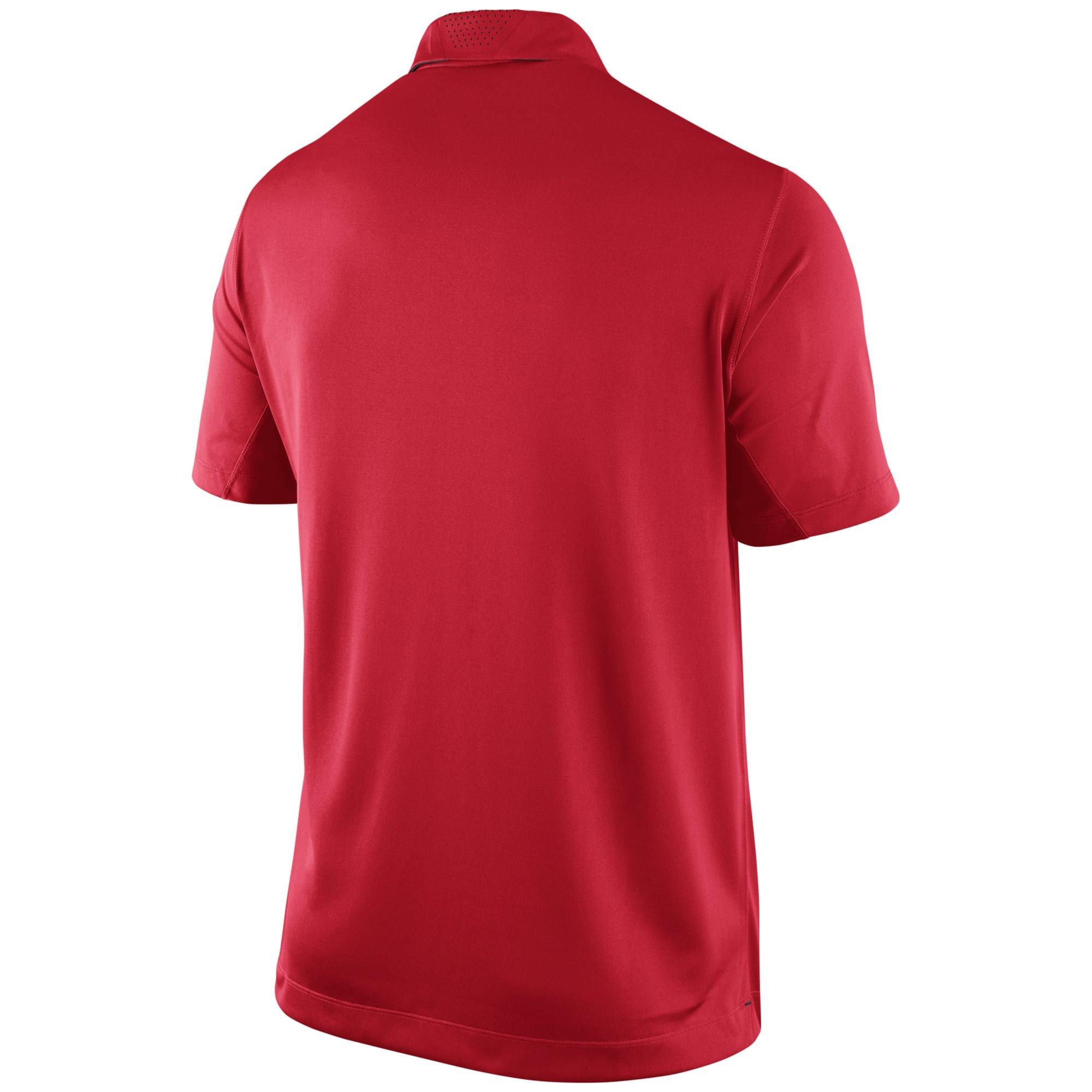 Nike men 39 s ohio state buckeyes elite coaches polo shirt in for Ohio state polo shirt 3xl