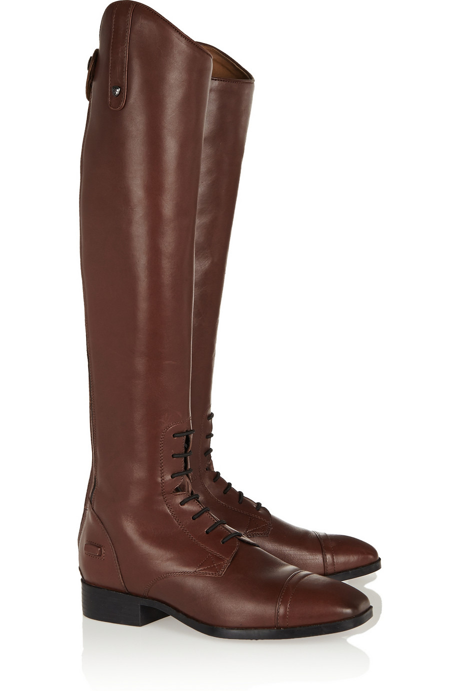 Ariat Challenge Contour Leather Slim-Fit Riding Boots in ...