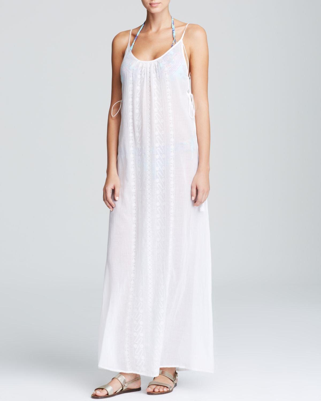 b0749f2dae Nanette Lepore Calcutta Maxi Dress Swim Cover Up in White - Lyst